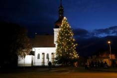 Slavnostní rozsvícení vánočního stromu 27. 11. 2016