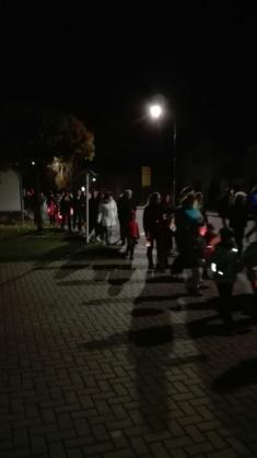 Svatomartinský lampionový průvod 11. 11. 2017