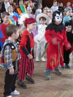 Dětský karneval 6. 3. 2016