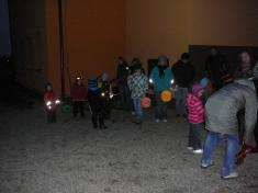 Svatomartinský lampionový průvod 10.11.2012