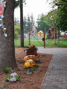 Barevný podzim na fotografii - výrobky žáků místní ZŠ a MŠ - říjen 2020