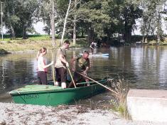 Brigáda na úklid rybníka Valachovna - 27. 6. 2021